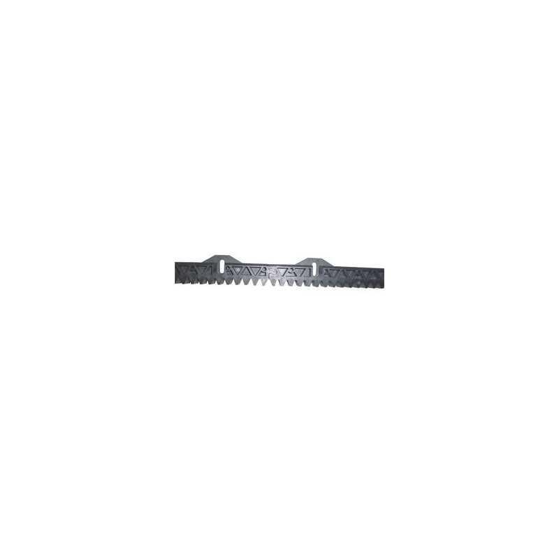 Mètre de crémaillère Nylon (3 éléments de 33cm)