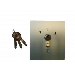 Poussoir extérieur à clé Gebe (PM Encastré).