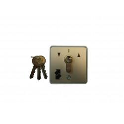 Poussoir extérieur à clé Gebe (PM saillie).