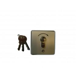 Poussoir extérieur à clé Gebe (saillie).