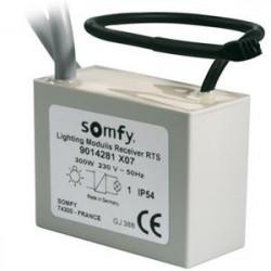 Récepteur d'éclairage pour variation SOMFY RTS