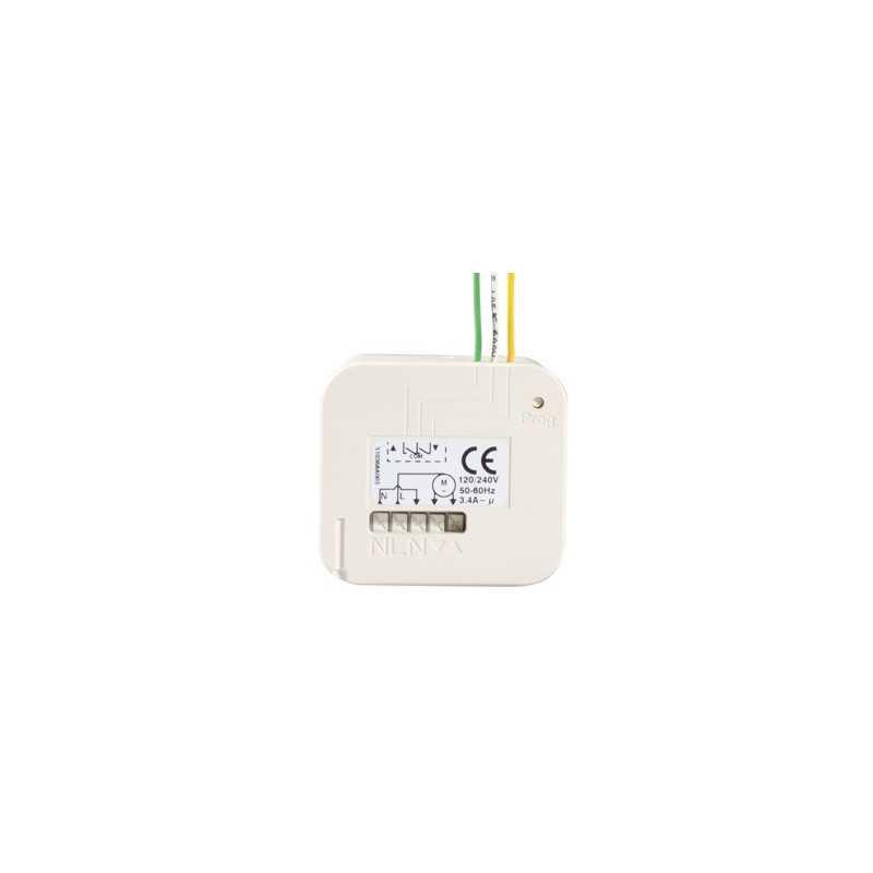 Micro récepteur RTS SOMFY/SIMU pour volet roulant (du filaire au radio)