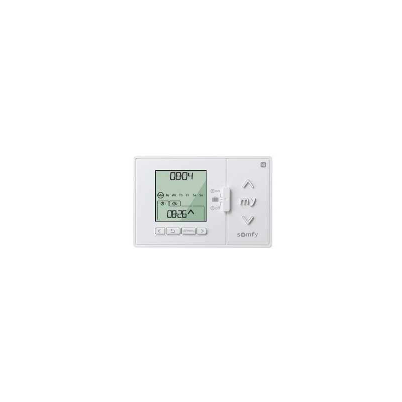 Commande Horloge SOMFY Chronis IO Homecontrol
