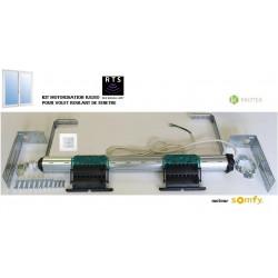 Axe motorisé Radio Somfy RTS pour volet roulant de Fenêtre