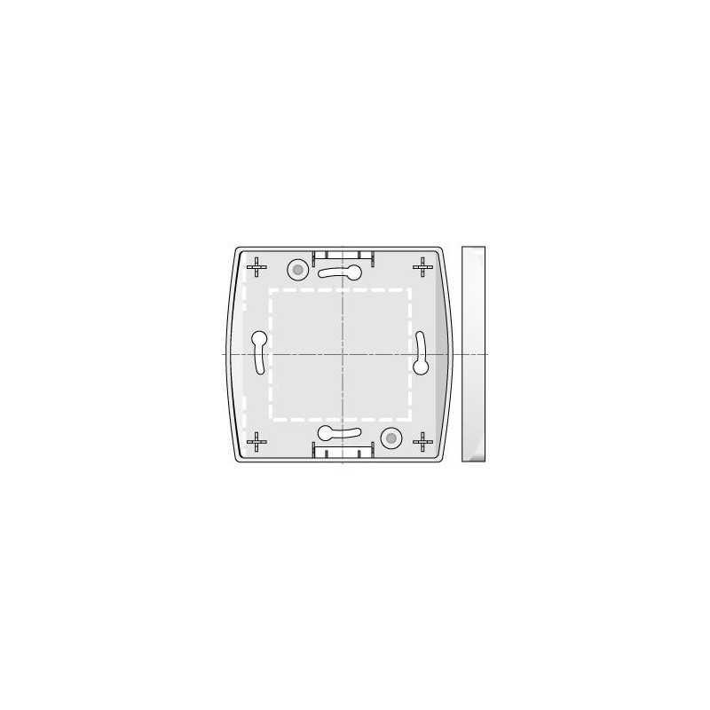 Boitier montage en saillie pour Inverseur Centralis Uno et IB SOMFY