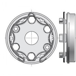 Support moteur LT50/60 entraxe 42,43,44 mm