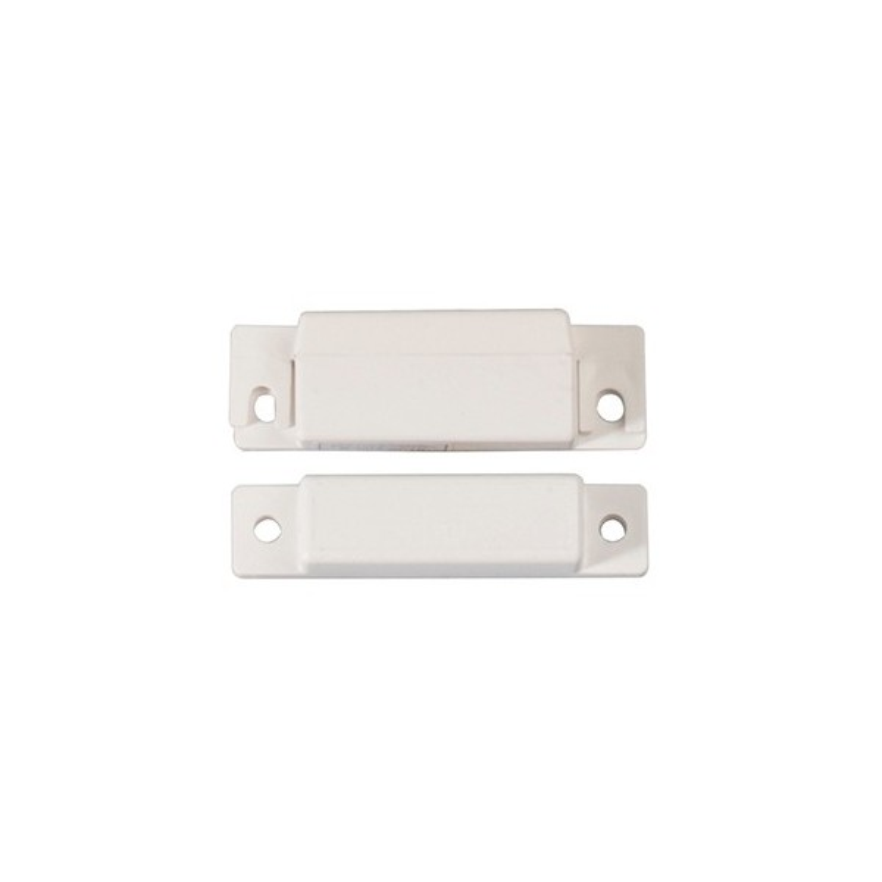 Aimant blanc pour détecteur ouverture menuiserie