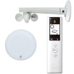 Pack capteurs façade IO (capteur vent/soleil et télécommande)