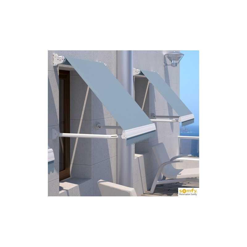 Store 2400 x 1400 à l'italienne électrique SOMFY RADIO IO