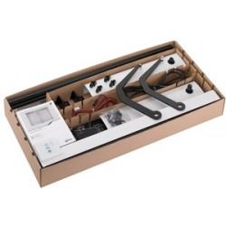 Kit motorisation YSLO FLEX RTS 1 Vantail BLANC (carter et bras)