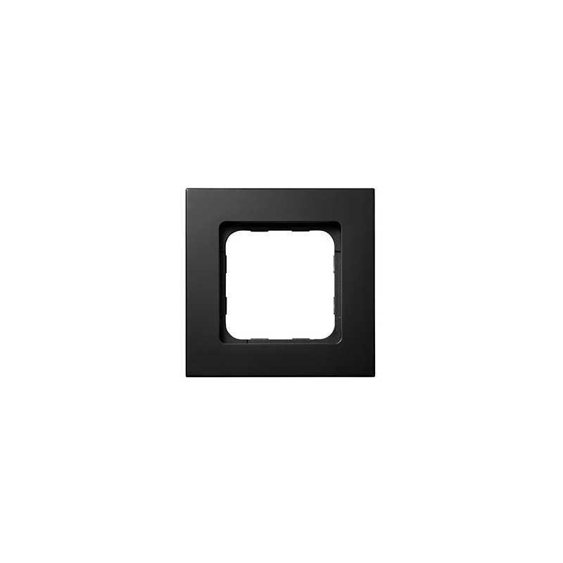 Cadre Smoove Somfy Noir mat