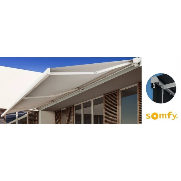Store coffre lambrequin enroulable 5 x 3 SOMFY