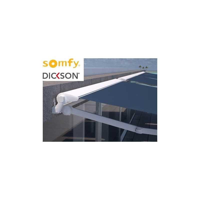 Store semi-coffre 5920 x 3500 électrique SOMFY RADIO IO