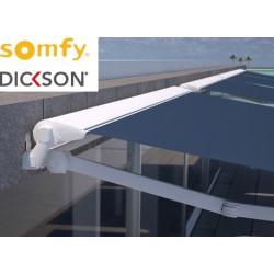 Store semi-coffre 3590 x 3500 électrique SOMFY RADIO IO