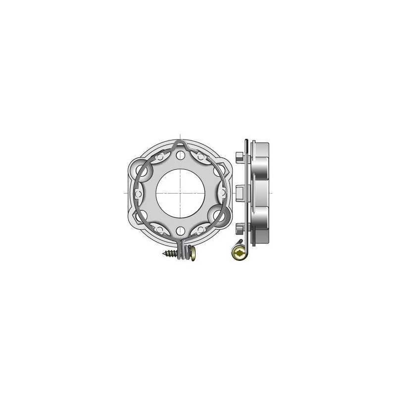 Support Universel Tarraudé avec anneau verrouillable