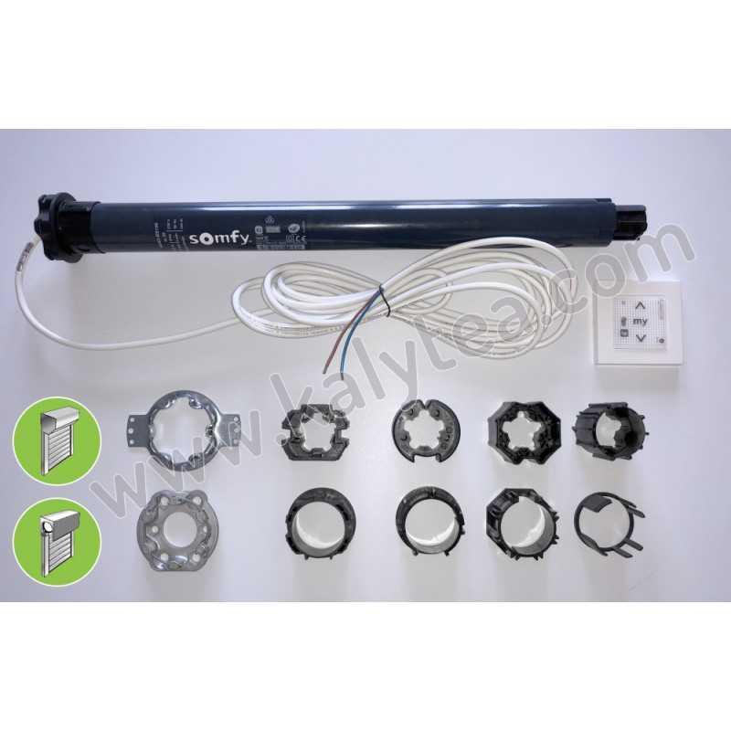 Kit remplacement moteur RS100 Volet Grande Baie Monobloc/Tradi