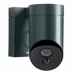 Caméra de surveillance extérieur GRISE