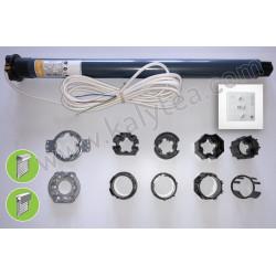 Kit motorisation Oximo io 6/17 moteur volet rénovation/Tradi