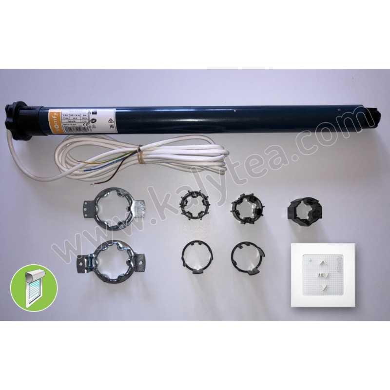 Kit motorisation Oximo RTS 10/17 moteur volet roulant BlocBaie