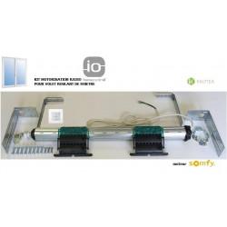 Axe motorisé Radio Somfy RS100 io pour volet roulant de Fenêtre