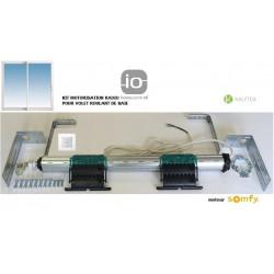 Axe motorisé Radio Somfy RS100 io pour volet roulant grande Baie