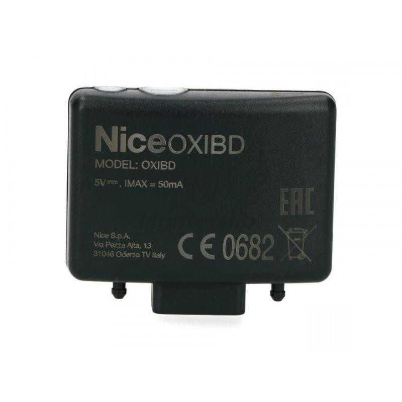 Récepteur radio Nice embrochable bidirectionnel