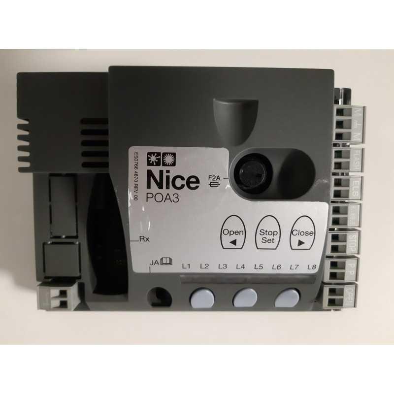 Carte électronique NICE moteur portail HOPP (AVANT R10 et Bidi)