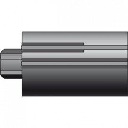 Embout ZF54 avec tourillon diam16 et carré de 10