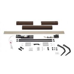 Kit motorisation YSLO FLEX IO 2 Vantaux Marron