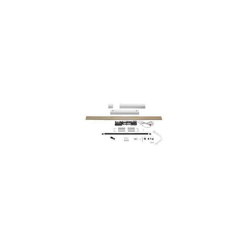 Kit motorisation YSLO FLEX IO 1 Vantail BLANC (carter et bras)