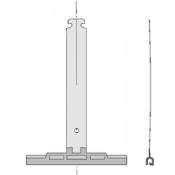 Agrafe unitaire Deprat - Tube OCTO40