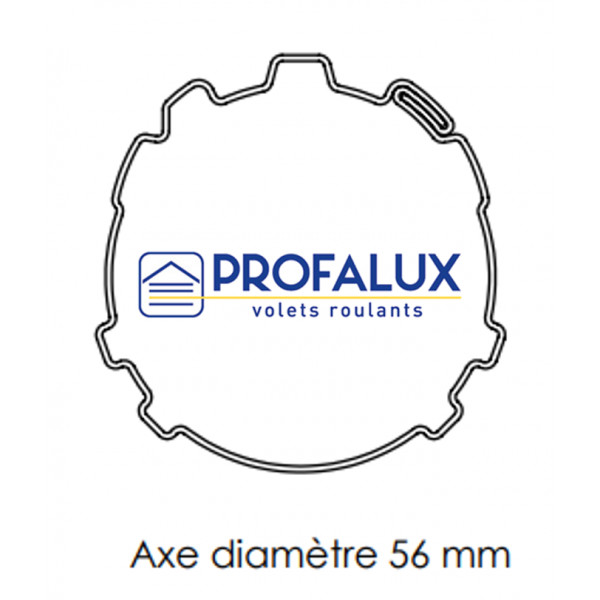 Axe Ø56 mm PROFALUX / EVENO