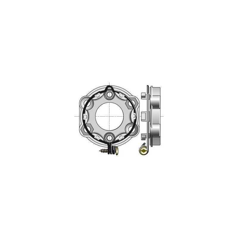 Support universel SOMFY avec anneau verrouillable