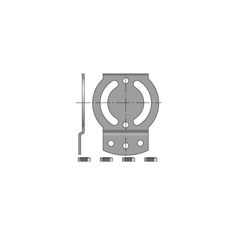 Support LT50 CSI entraxe de 44mm (Volet roulant avec secours)