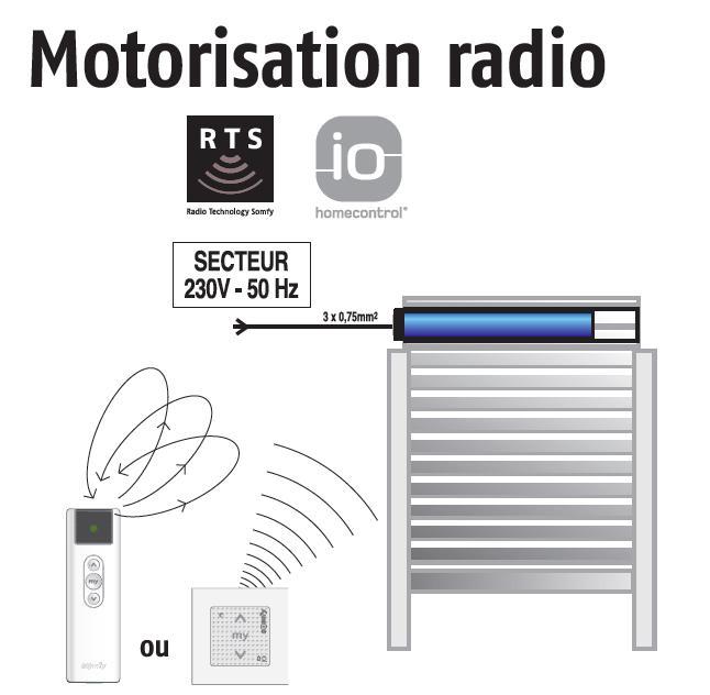 motorisation radio