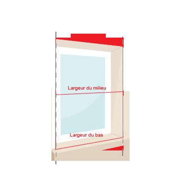 Schema largeur fenêtre